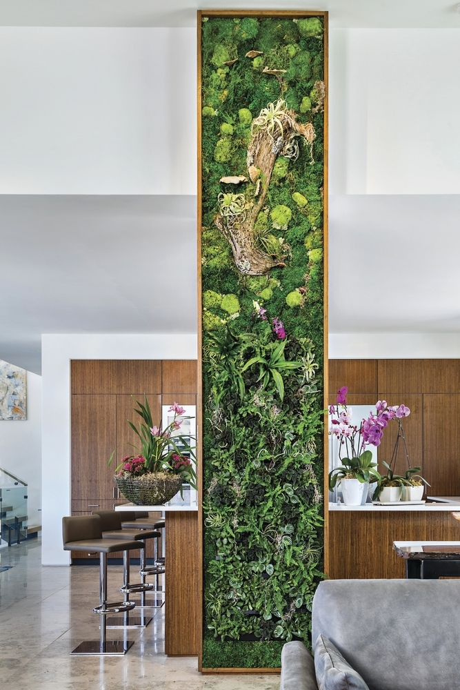 A Living Wall is the New Luxury Interior Touch